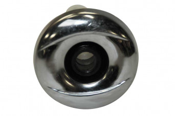 """category 2 Cluster Jet, Adjustable Directional, Snap-In, Smooth, Chrome-Black"""""""" 151322-31"""