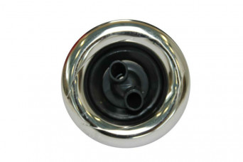 category 5 Power Jet, Twin Roto, Snap-In, Smooth, Chrome-Black 150093-31