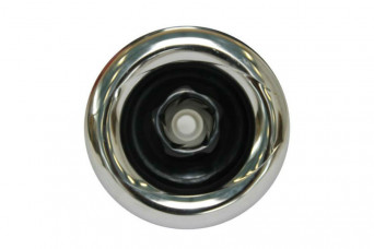 5 Power Jet, Adjustable Twirl, Snap-In, Smooth, Chrome-Black 150155-31