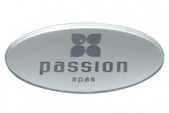 category Oval Plastic Plate for Pillow, Passion 150397-30