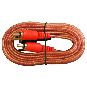 Spa Audio Equipment RCA audio cable 12 ft twins red/black (2013E26)